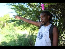 Rayon Sommerville lives in Green Bay, a small community between the Yallahs Pond and the Caribbean Sea.