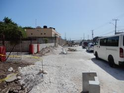 Hagley Park Road in Kingston could provide additional challenge for the public when school reopens on Monday.