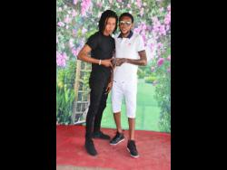 Sikka Rymes (left) and Vybz Kartel.