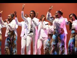 Members of ASHE in performance.