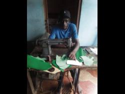 Fitzroy Fuller has been making shoes for 40 years.
