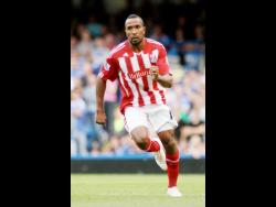 Former national striker Ricardo Fuller during his time at Stoke City in the English Premier League.
