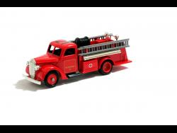 Daemion McLean got a toy fire truck as a Christmas present at age 19.