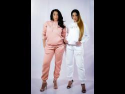 Nyla (left) and Nyanda of Brick & Lace.