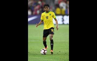 Jamaica midfielder Peter Vassell.