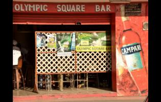 Olympic Square Bar in Olympic Gardens.