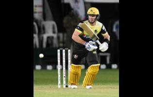 Jamaica Tallawahs wicketkeeper-batsman Glenn Phillips.