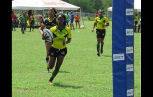 Jamaica Lady Crocs player Shanae Gordon.