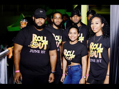 The Roll Out crew show their support EAST. Roll Out is schedule for June 1, at Hope Gardens.