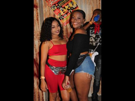 Mackada Burke and Vanessa Henry were dressed and ready for Bacchanal and Dancehall.