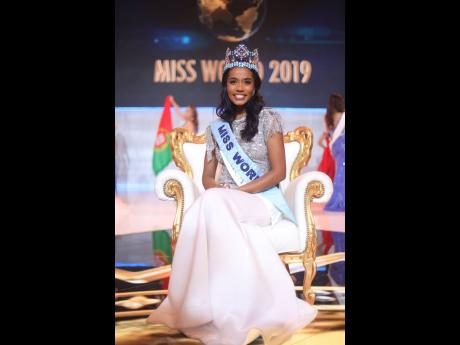 Miss World 2019, Jamaica's Toni-Ann Singh.