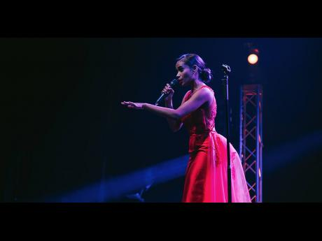 Miss World 2019 Toni-Ann Singh performs Whitney Houston's 'I Have Nothing' to win the talent competition.