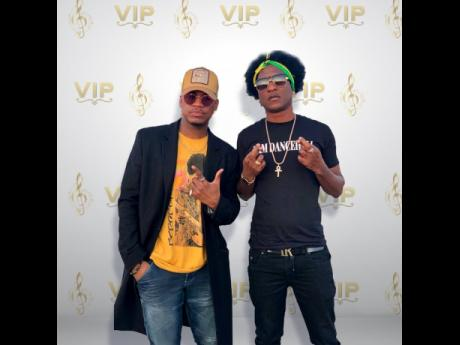 Ne-Yo (left) and Charly Black.