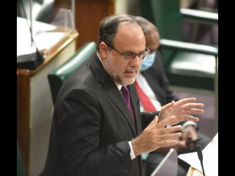 Opposition leader Mark Golding.